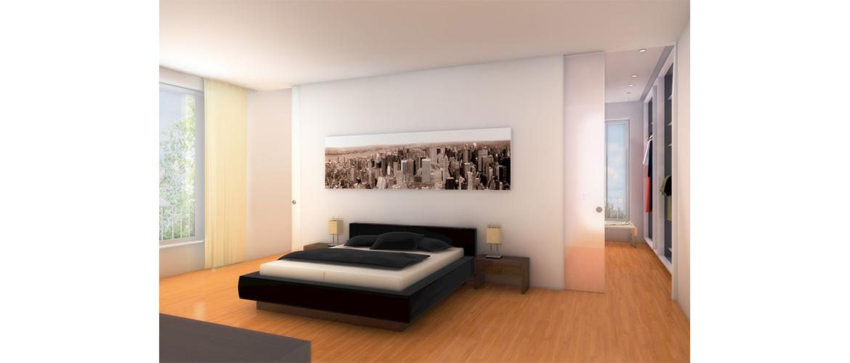schiebet r in wand verschwinden lassen. Black Bedroom Furniture Sets. Home Design Ideas